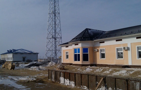 Строительство ж/д линии Жезказган —Cаксаульская, г.Жезказган